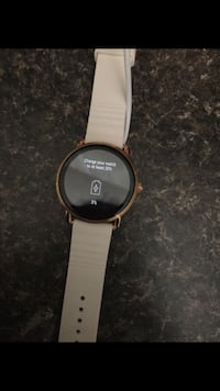 round black digital watch with white strap Knoxville, 37914