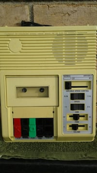 Library of Congress cassette player for the blind Oklahoma City, 73111