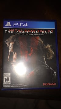 The Phantom Pain PS4 game case Vancouver, V6R