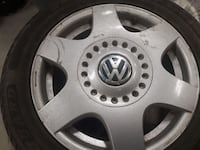 V w rims and tires 205/55R16