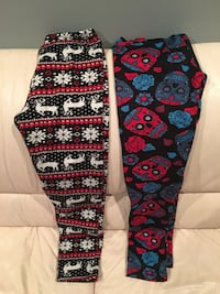 NEW JUST COZY LEGGINGS X 2 Springfield, R0E