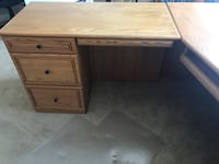 Large High Quality Wood Desk