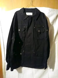 black button-up jacket Washington, 20011