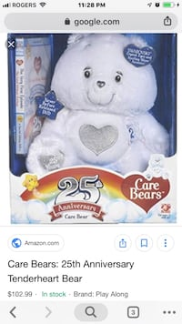 RARE 25th Anniversary CARE BEAR*WITH DVD! 1946 km