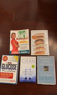 Eat clean/Dietary related books
