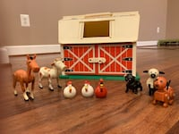 Vintage Fisher-Price toys - Farm and Firehouse Leesburg, 20175