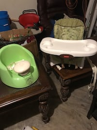 High chair and sitting chair  Lewisville, 75077