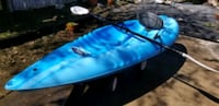 Pelican kayak 9ft with paddle
