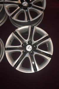Lexus Rims 5 lug 120 mm Google your bolt pattern to see if it will fit Philadelphia, 19136