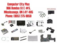 APPLE MACBOOK PRO 2009 - 2012 PARTS FOR SALE!!! Mississauga
