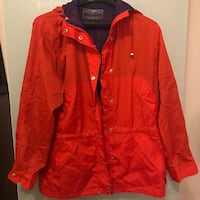 red zip-up jacket Alexandria, 22314