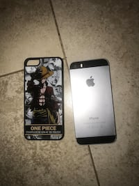 black iPhone 5 with case Los Angeles, 90062