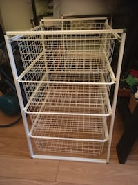 2 IKEA basket units, each with 4 sliding baskets  536 km