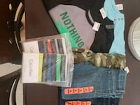 Jean's / shorts brand new and boys briefs  Los Angeles, 90042
