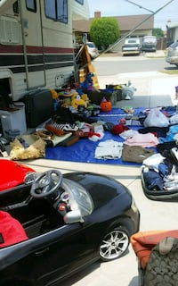 assorted clothes and shoes lot everything Westminster, 92683