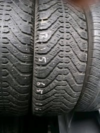 215/65R16 Goodyear Nordic winter x2
