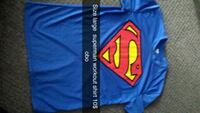 blue and red Superman crew-neck shirt Prince George, V2M 4P3