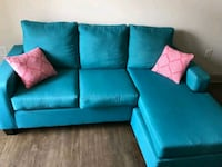 Sofa L shape interchangeable left or right. Color blue Knoxville, 37915