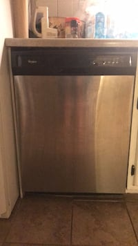 Whirlpool stainless steel dishwasher