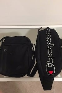 Nike side bag with champion fanny pack Milton, L9E