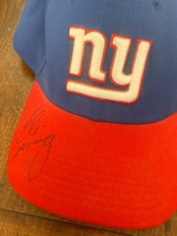 Eli Manning Authentic Signed Hat Salinas, 93901