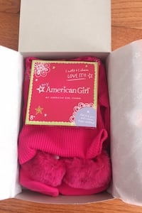 American Girl Fair Isle Pajamas NEW  Herndon, 20171
