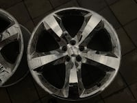 Used Dodge Charger ( [TL_HIDDEN] x8 OEM Aluminum Alloy Chrome Clad 5 Spoke CAPITOLHEIGHTS