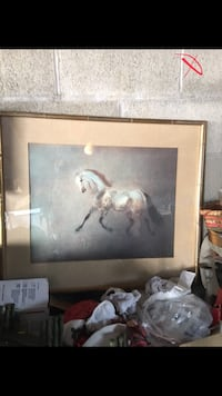 Large horse art in frame Lancaster, 17602