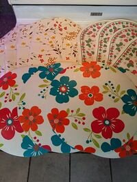 For ALL 12 vinyl placemats (4 of each kind) Mississauga