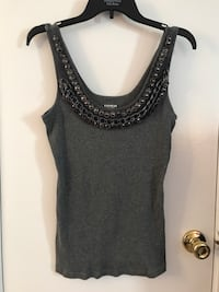 women's black and gray tank top Overland Park, 66210