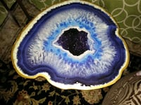 Geode design end tables. 65.. for both or 45. Each Orlando, 32820
