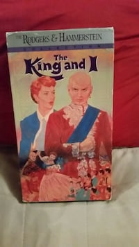 The King and I VHS Movie Wilmington, 28411