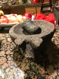 Molcajete with pig head Anza, 92539