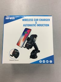 Wireless Car Charger & Automatic Induction - BRAND NEW Mississauga, L5J 1J7
