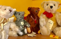 Collectible Steiff bears! Can be sold separately!  Clinton, 20735