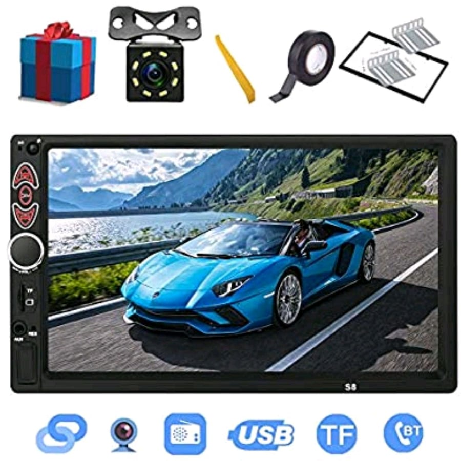 "7"" touchscreen car stereo"