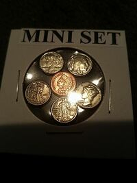 Novelty item. Mini coins. They are cool looking Sandy, 84094