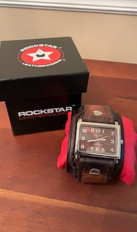 Rockstar leather watch Arlington, 22206