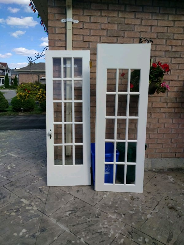Used French Door 15 Panel For In