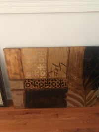 Abstract  picture frame from India