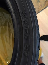 4 Yokohama tires, 225/40R18, all seasons. Only used for one season. No need for tires as I have sold my car. Vancouver, V6Z