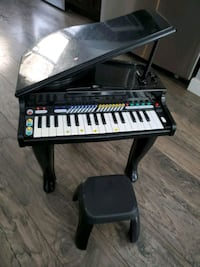 Kids Piano with stool