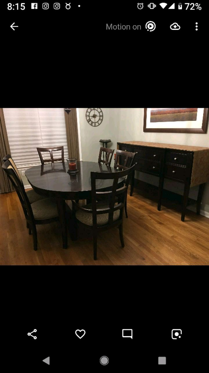 used stanley american modern dining room set for sale in north rh us letgo com