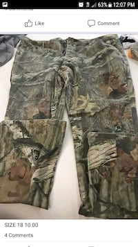 brown and green camouflage cargo pants Columbus, 43220