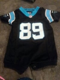 Used Baby boy Panthers jersey onesie size 6-9 months for sale in ... 152bb378f