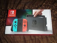 Nintendo Switch Brand New Blue and red joycons  Alexandria, 22314