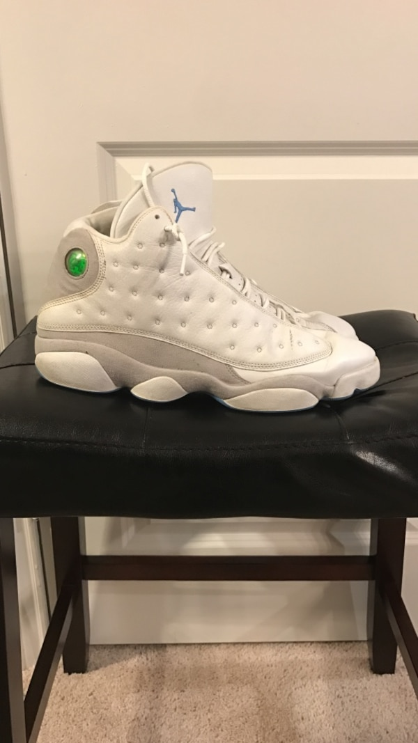 cad9ecd1d6ddab Used Nike Air Jordan 13 Retro Neutral Grey University Blue Flint  31004-103  Sz 13 for sale in Spring - letgo