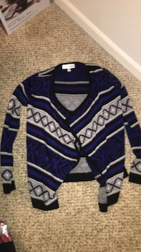Blue Tribal sweater Lee's Summit, 64064