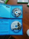 Assassin's Creed Unity and Star Wars Battlefront PS4 game discs