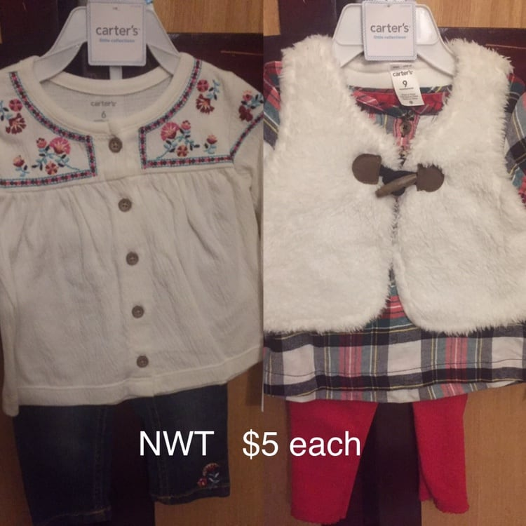 NWT baby girl cloths all sizes